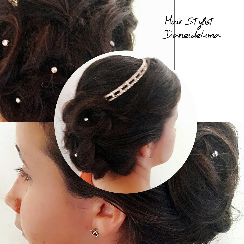 Praticando  cabelo dermopigmentador(a) designer de sobrancelhas maquiador(a)