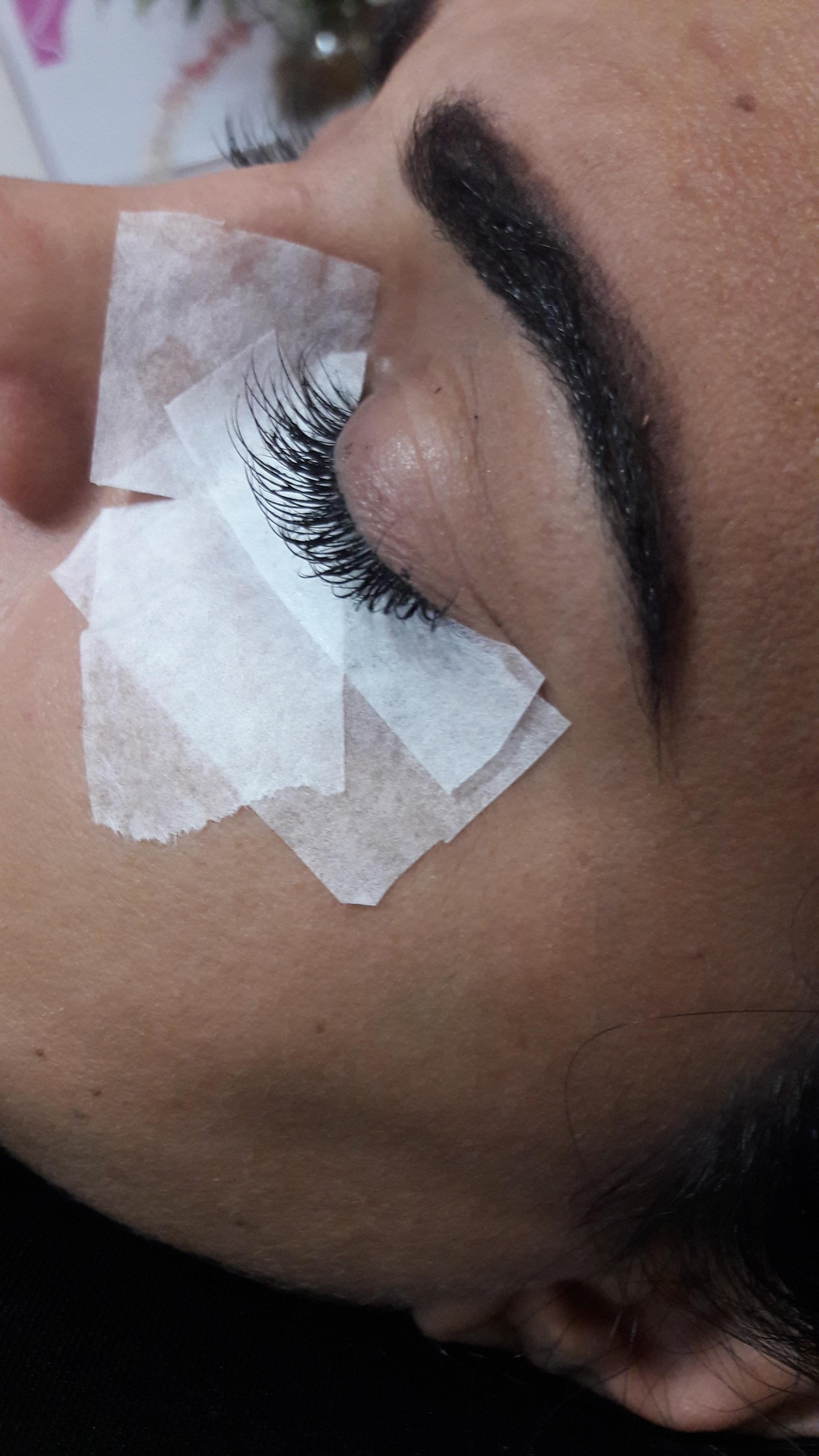 Resultado Alongamento de Cílios  outros dermopigmentador(a) designer de sobrancelhas maquiador(a)