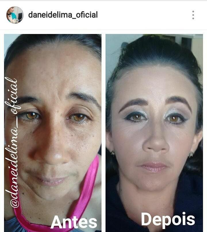 Faz ou não diferença? !💄💋👏👏 maquiagem dermopigmentador(a) designer de sobrancelhas maquiador(a)