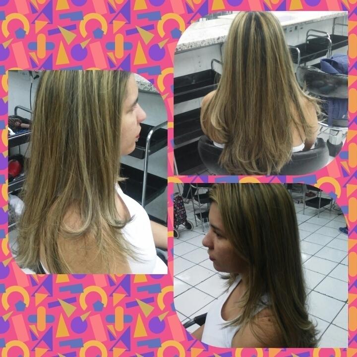 Luzes No Papel cabelo auxiliar cabeleireiro(a) designer de sobrancelhas cabeleireiro(a)