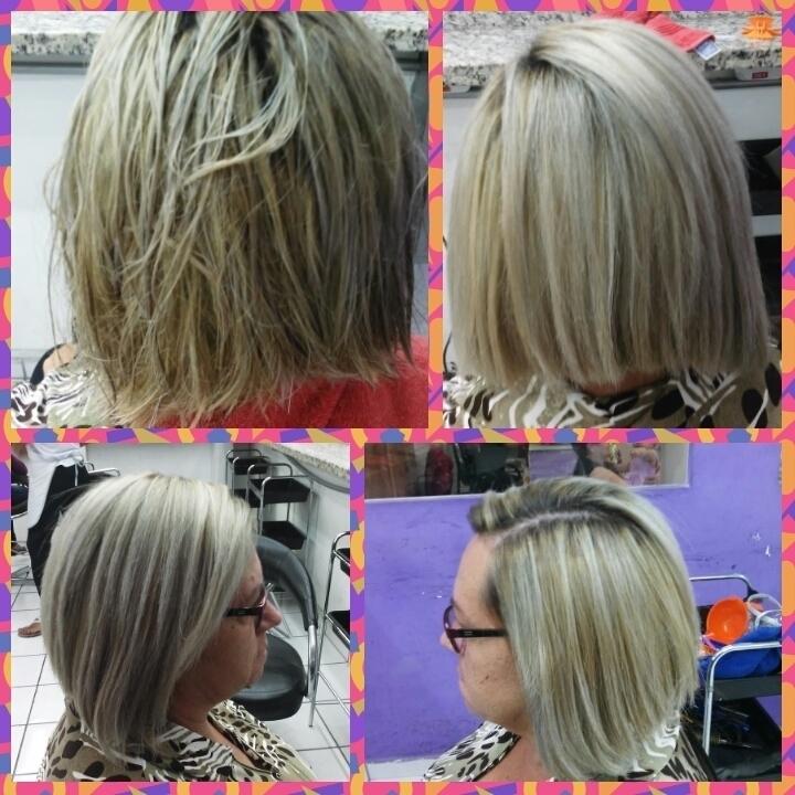 Hidratação e escova cabelo auxiliar cabeleireiro(a) designer de sobrancelhas cabeleireiro(a)