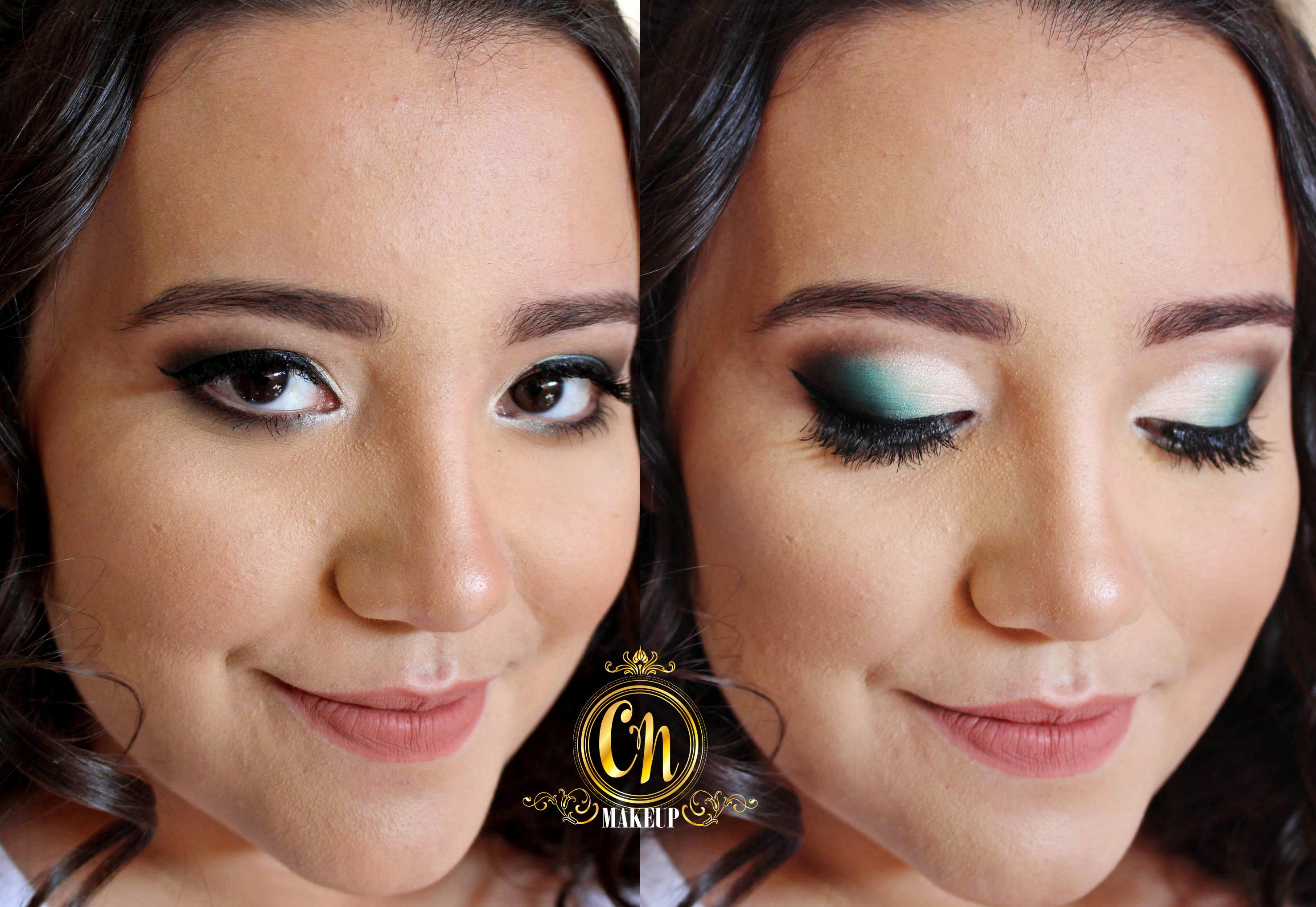 Maquiagem em tom verde para convidada de casamento! #ubatuba #camilanogueira #maquiadora #convidada #casamento maquiagem maquiador(a)