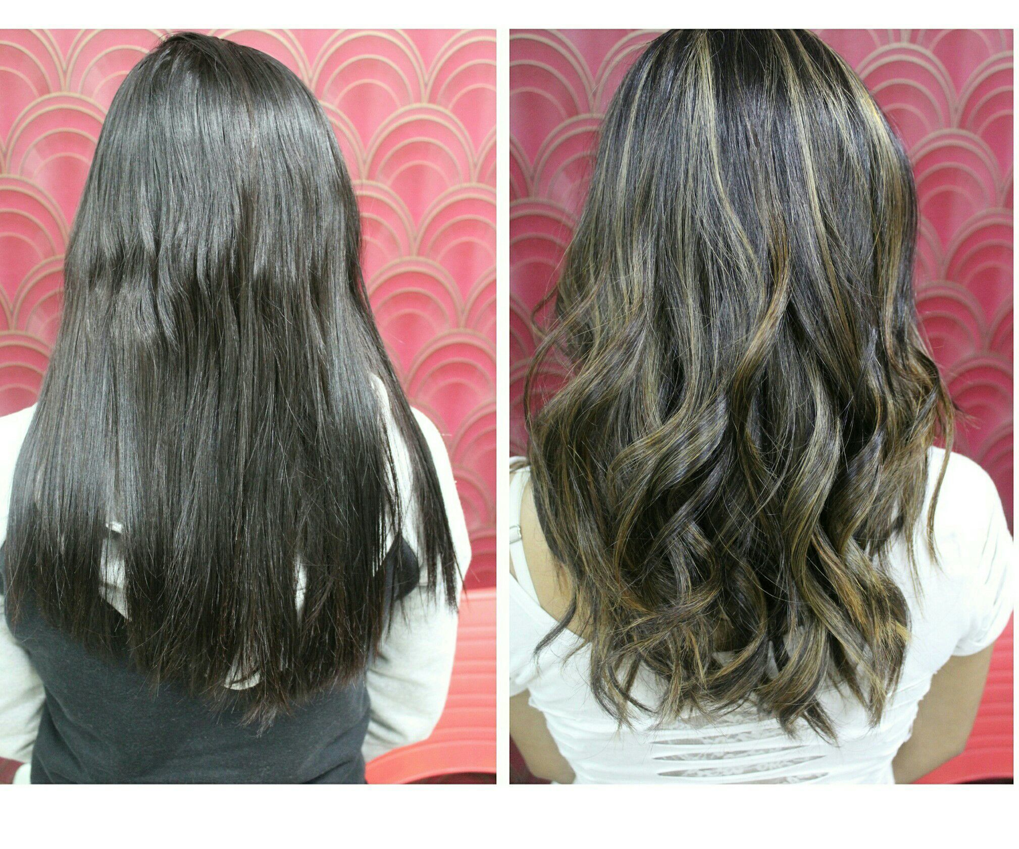 Light golden brown highlights cabelo cabeleireiro(a)