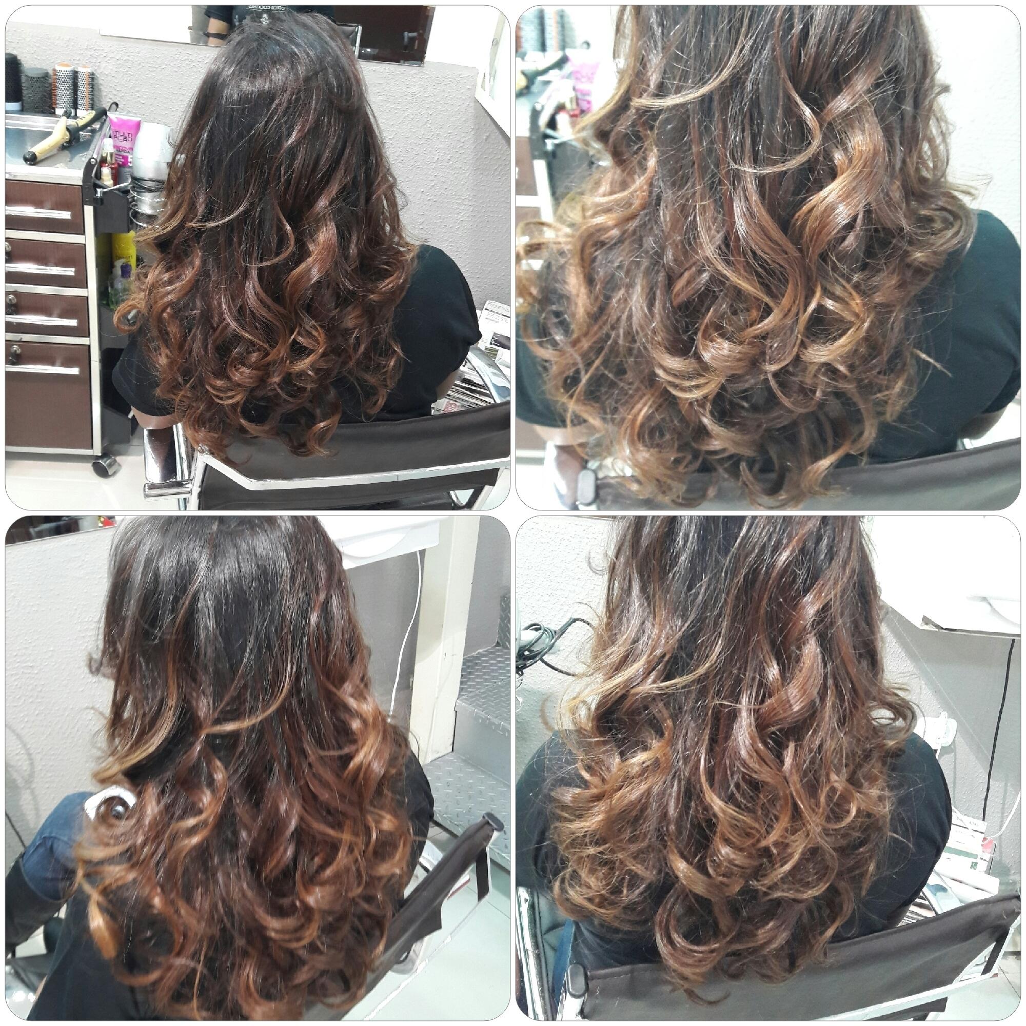 Morena iluminada, #tomavelã.  cabelo gerente