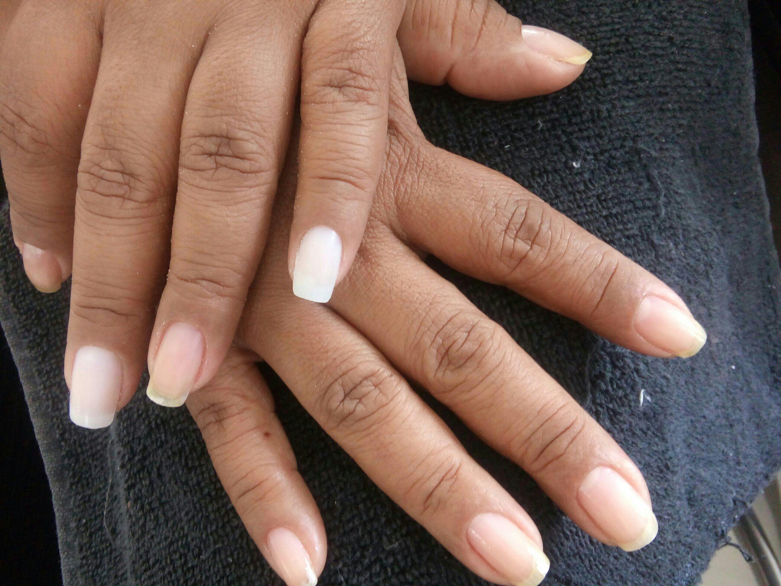 Alongamento artificial com Tips unha manicure e pedicure auxiliar cabeleireiro(a) recepcionista