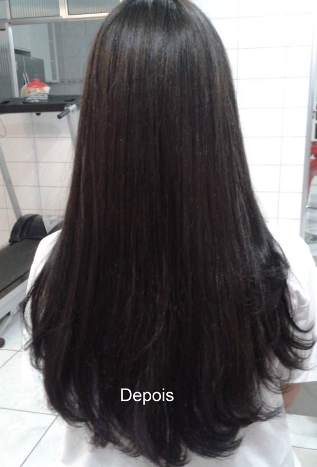 Hidratação + Escova cabelo esteticista cabeleireiro(a) depilador(a) designer de sobrancelhas