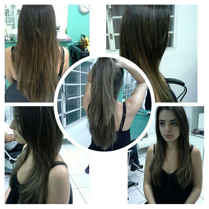 Morena  iluminada,  tendências de  verão cabelo stylist / visagista cabeleireiro(a)