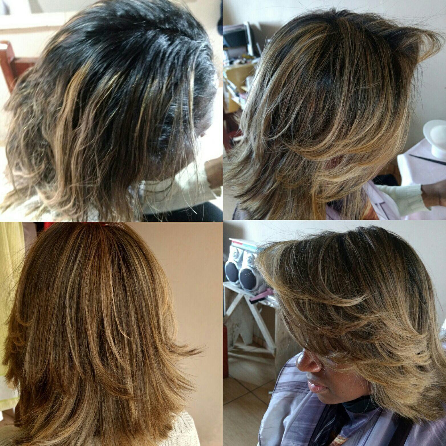Foi feito o trabalho de transparência em todo cabelo + ombre hair e depois todo o cabelo foi finalizado com 7/38 wella cabeleireiro(a) dermopigmentador(a) designer de sobrancelhas maquiador(a) cabeleireiro(a)