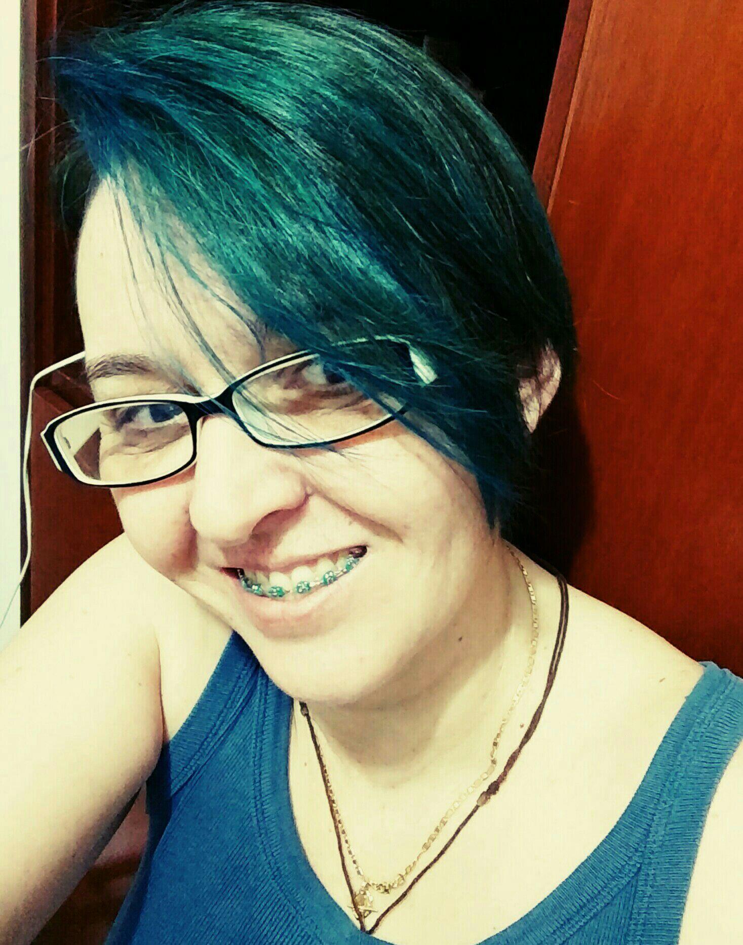Colorido cabelo cabeleireiro(a)