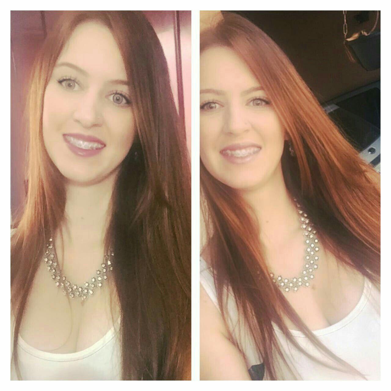 Coloração.. Cobre cabelo cabeleireiro(a)