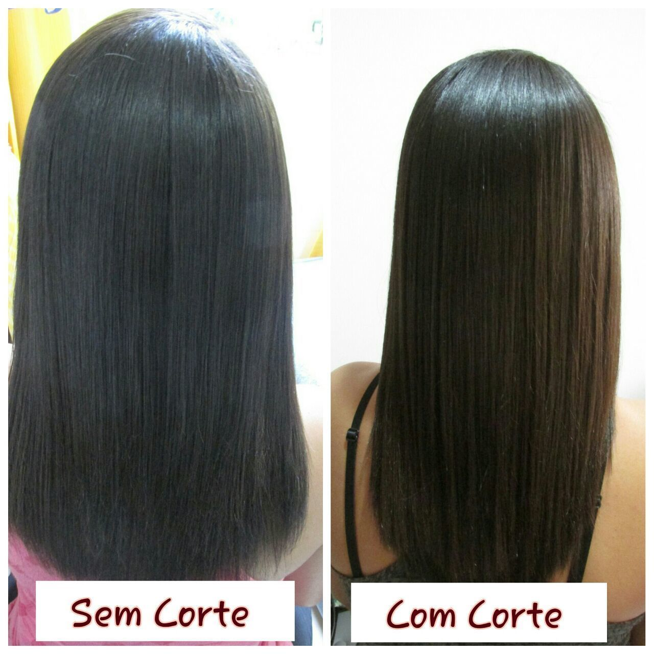 Limpeza de pontas. cabelo cabeleireiro(a) estudante (esteticista)