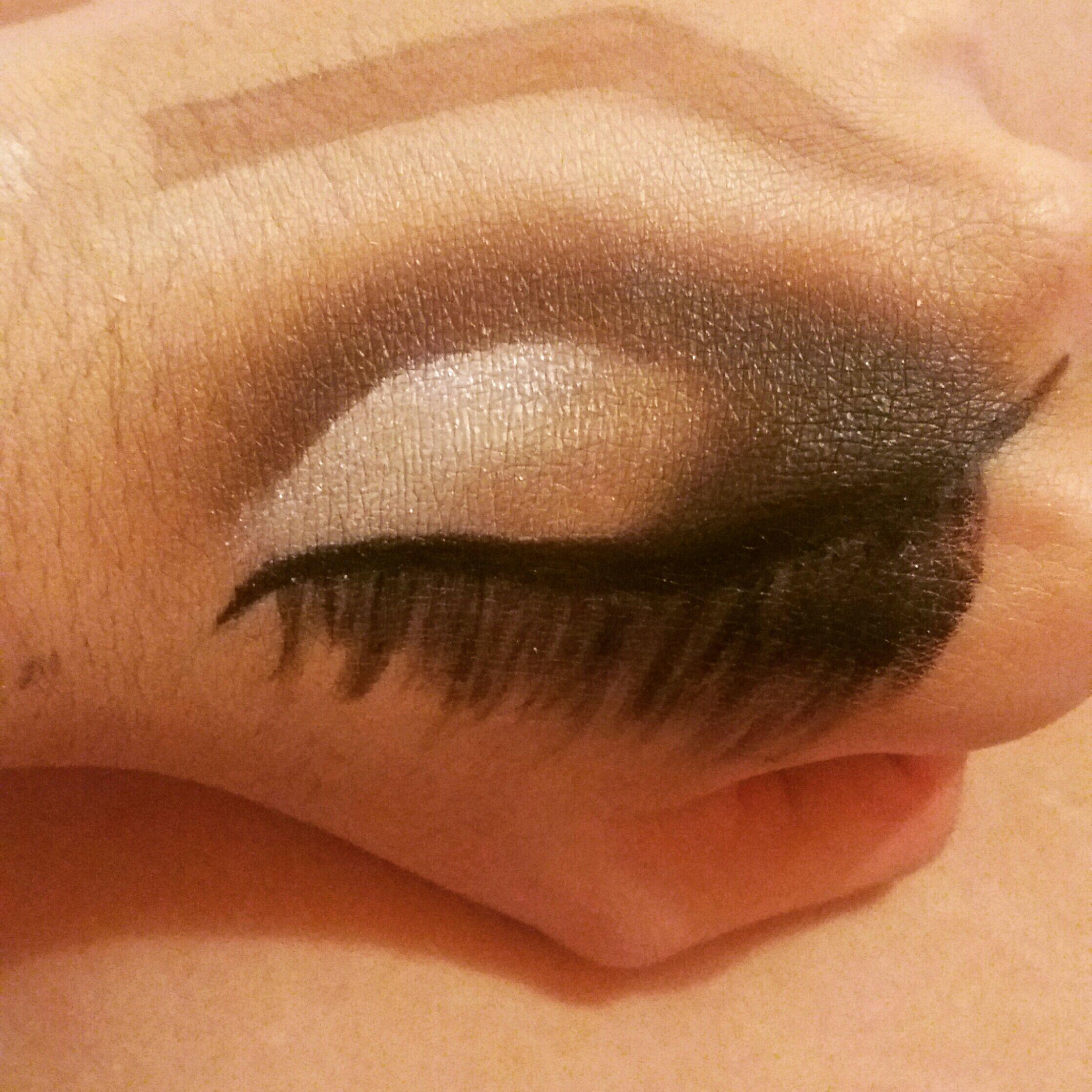Meio Cru Crease maquiagem maquiador(a)