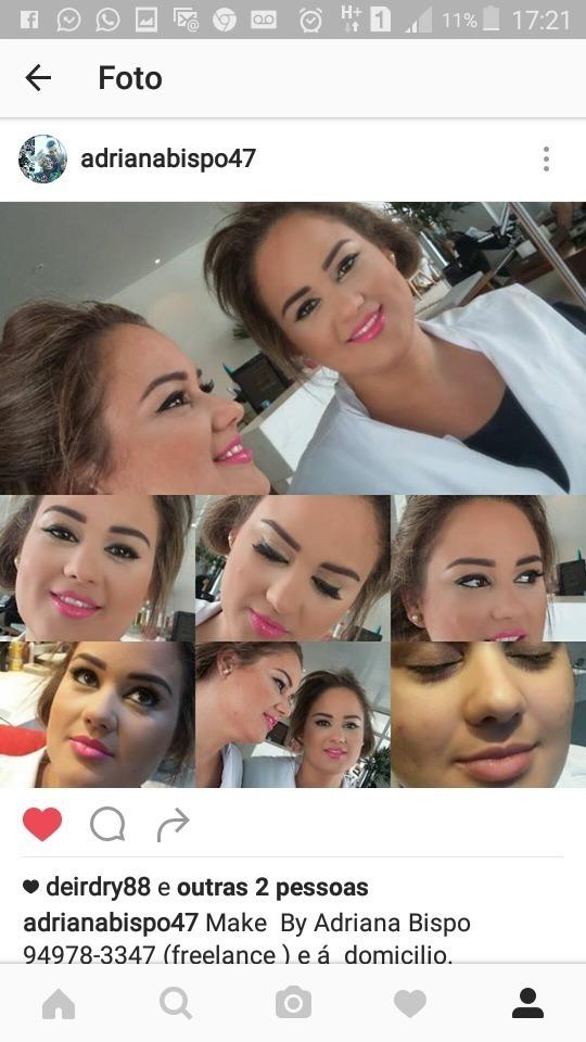 Makeup maquiagem cabeleireiro(a)