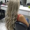 Ombre Hair com micro mechas peroladas