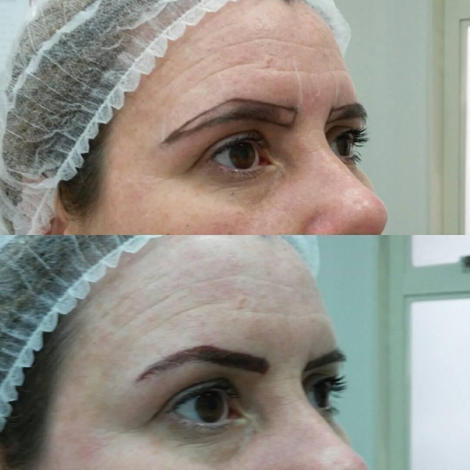 Micropigmentação fios fsline, com um toque de brush. #byfernandascardini #belezanoolhar #beauty #sobrancelhasdefinidas  estética dermopigmentador(a) designer de sobrancelhas depilador(a)