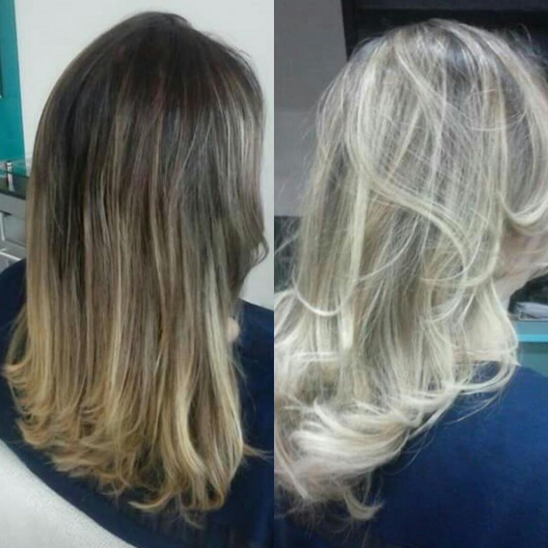 Muitas mechas, mas mantendo a cor natural da raiz,  para dar contraste entre cabelo e pele! cabelo cabeleireiro(a)