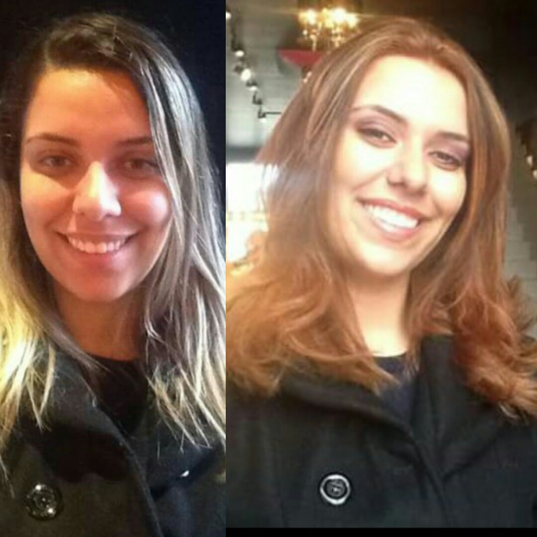 Transformação Visagista, adequação de imagem! cabelo cabeleireiro(a)