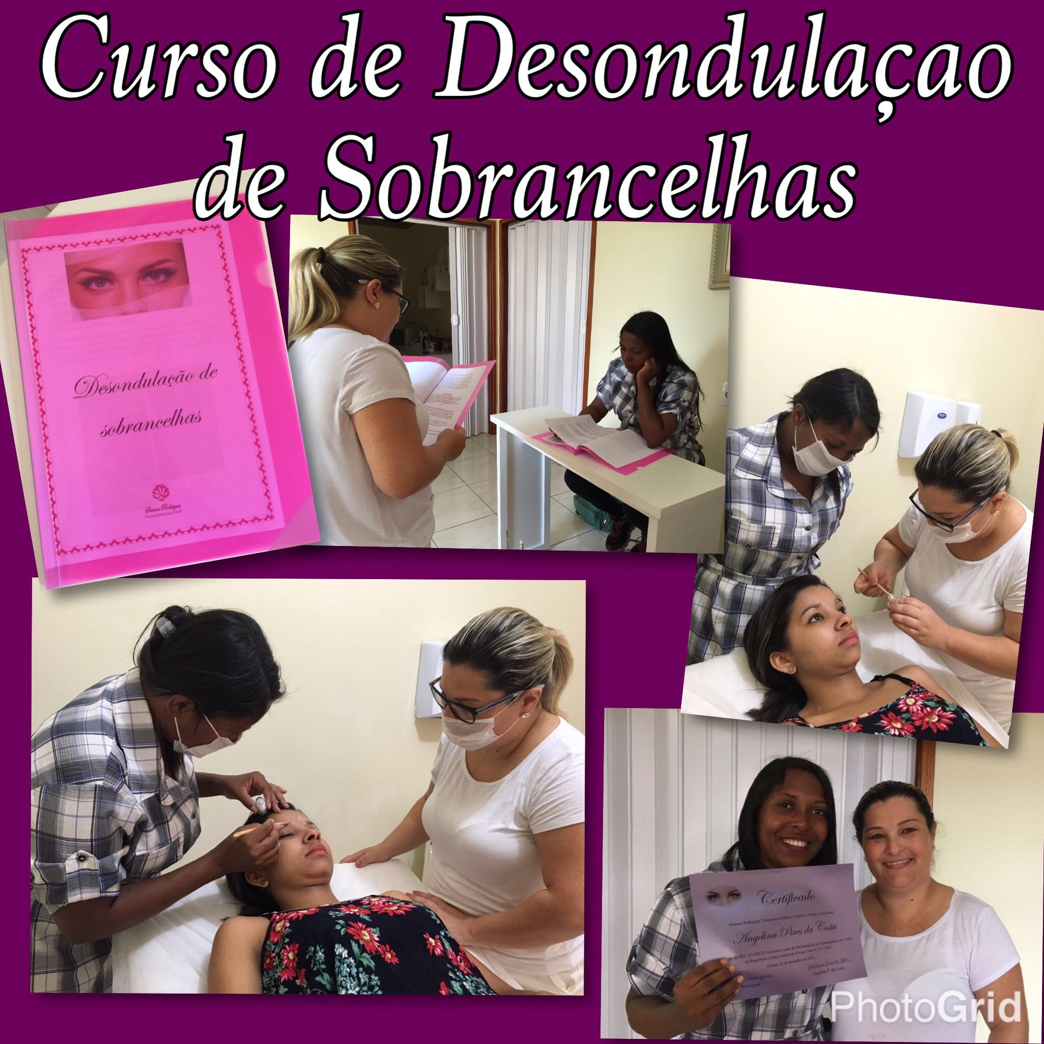 #curso #desondulaçaodesobrancelha #simonerodriguesdepil estética designer de sobrancelhas esteticista depilador(a) micropigmentador(a)