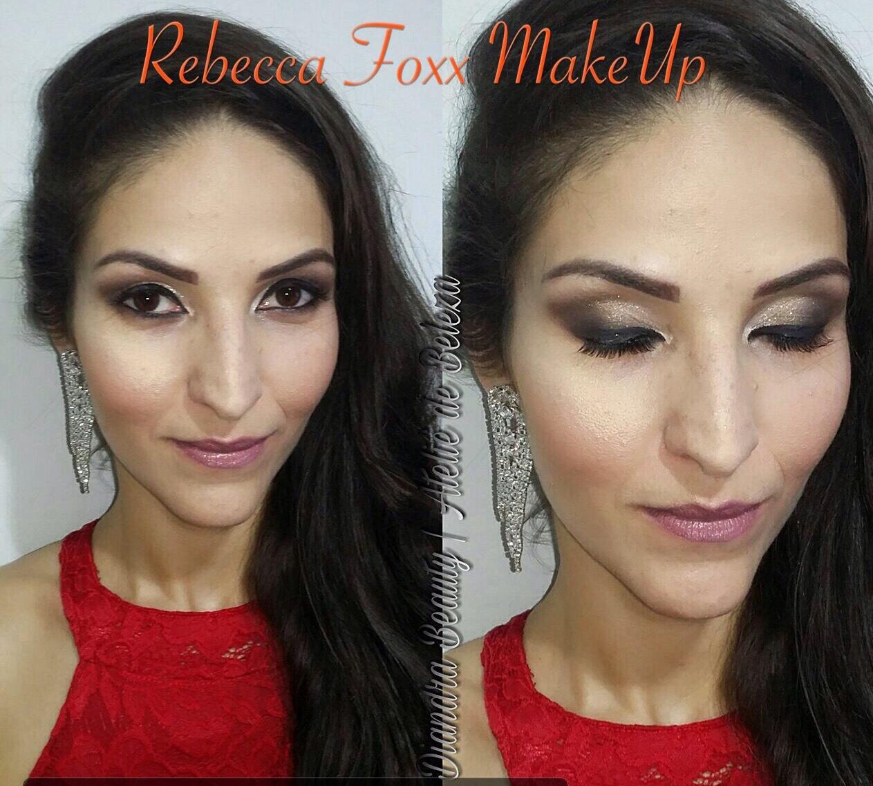 Make feita por mim em uma cliente do Ateliê Diandra Beauty maquiagem maquiador(a) estudante (cabeleireiro) auxiliar cabeleireiro(a)