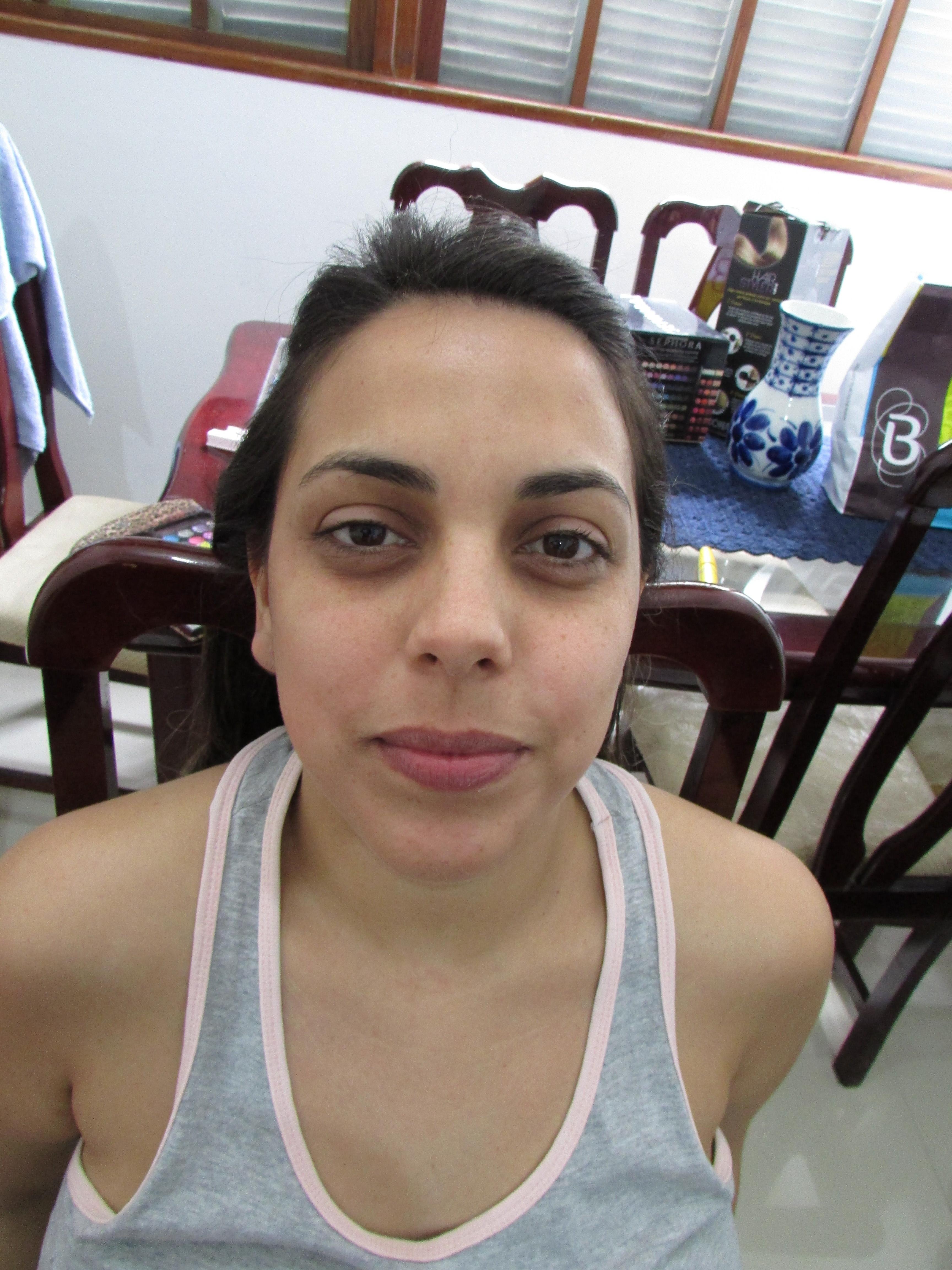 Bruna Cervone. #Madrinha #Antes  maquiagem maquiador(a)