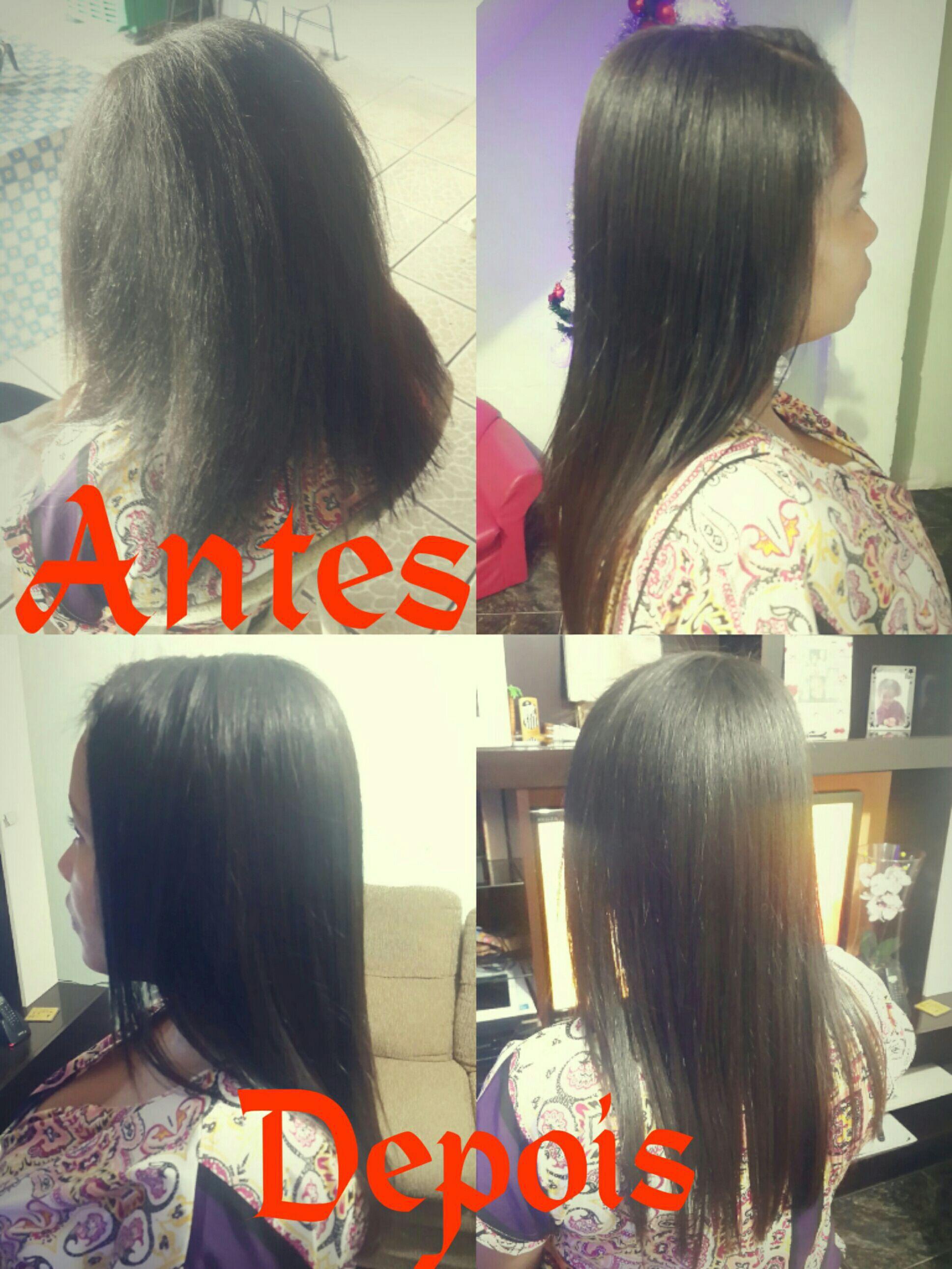 Mais uma Progressiva feita, utilizando o Produto da Zap. cabelo auxiliar cabeleireiro(a)