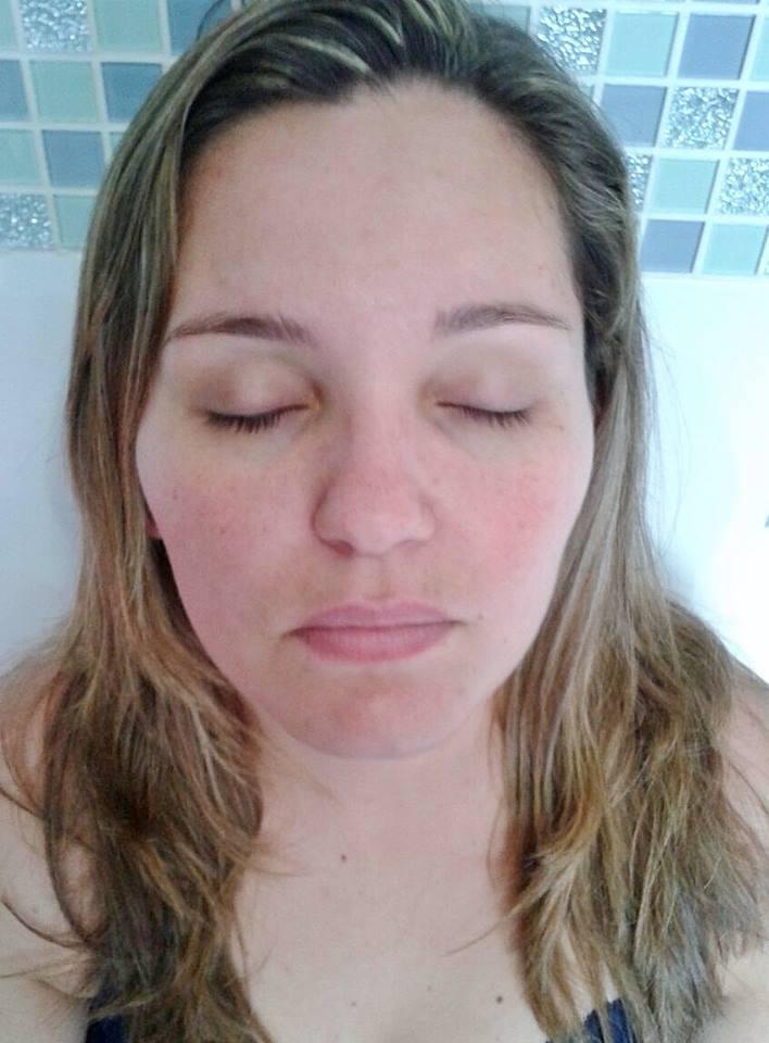 Madrinha (Antes) maquiagem recepcionista maquiador(a)