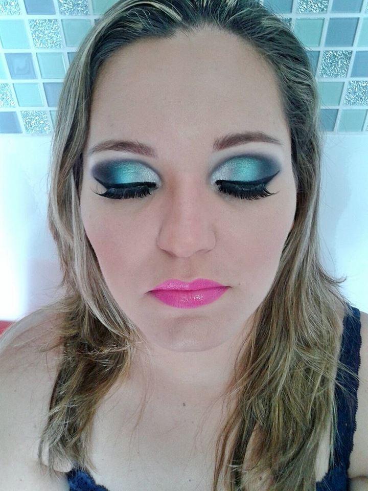 Madrinha (Depois) maquiagem recepcionista maquiador(a)