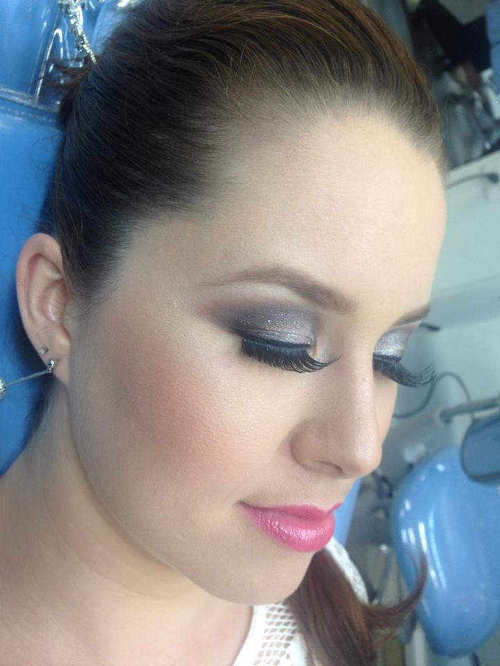 Noiva Noite (Depois) maquiagem recepcionista maquiador(a)