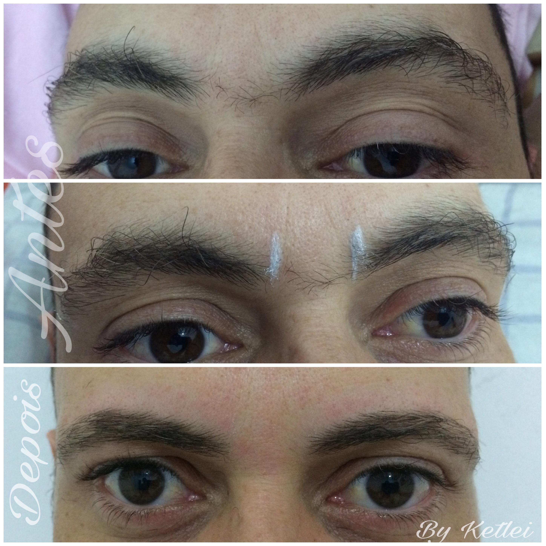 Designer de Sobrancelhas Masculino  08/01/2017 estética depilador(a) designer de sobrancelhas