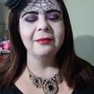 Maquiagem Artística - Festa de halloween Veja mais no meu Blog Vaidosas de Batom:  www.vaidosasdebatom.com