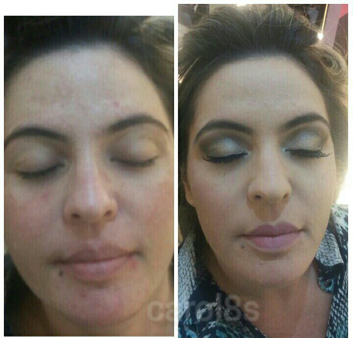 maquiagem maquiador(a) auxiliar cabeleireiro(a) designer de sobrancelhas