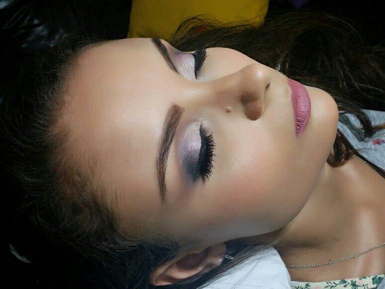 Proposta de make para festa. maquiagem maquiador(a) aromaterapeuta naturólogo(a) maquiador(a)