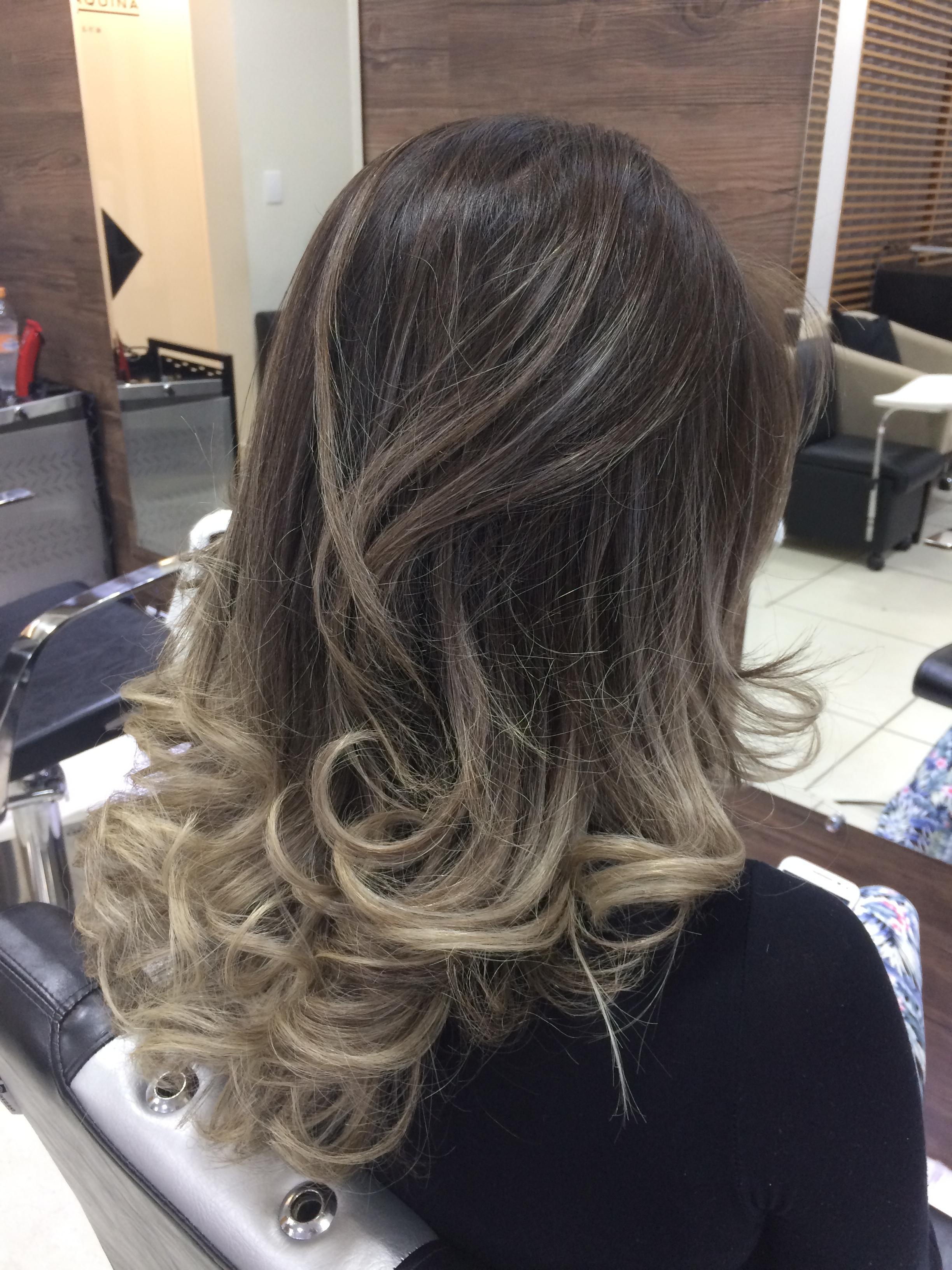 Ombrehair no tom de loiro bege!!! cabelo cabeleireiro(a) barbeiro(a)