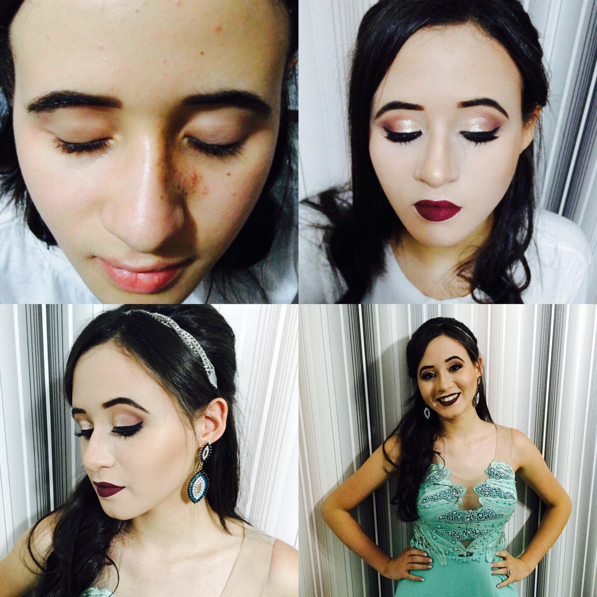 Formanda maquiagem esteticista depilador(a) maquiador(a) designer de sobrancelhas