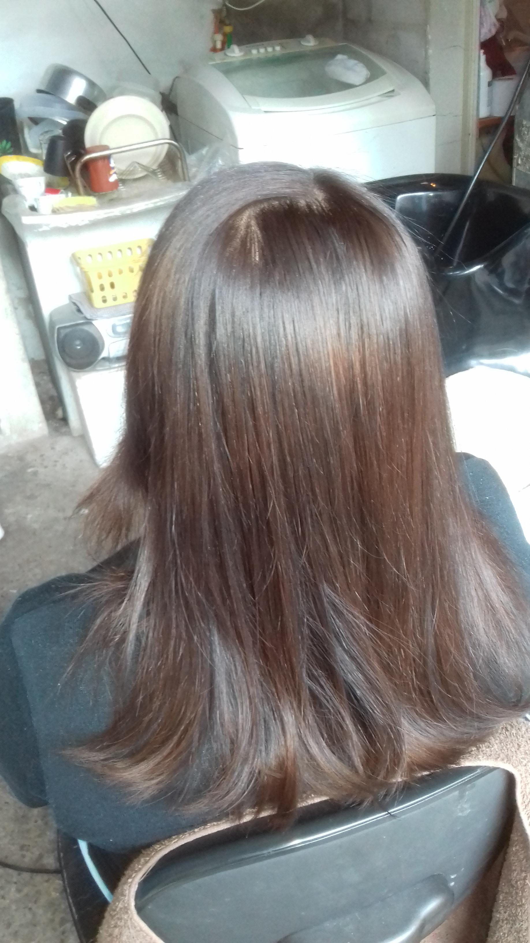 depois progressiva cabelo cabeleireiro(a) auxiliar cabeleireiro(a)