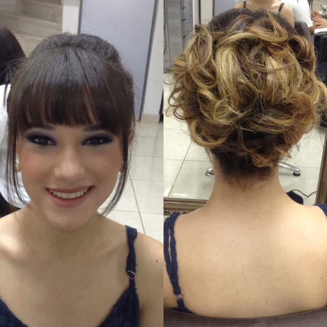 Penteado e maquiagem  maquiagem cabeleireiro(a) maquiador(a) designer de sobrancelhas
