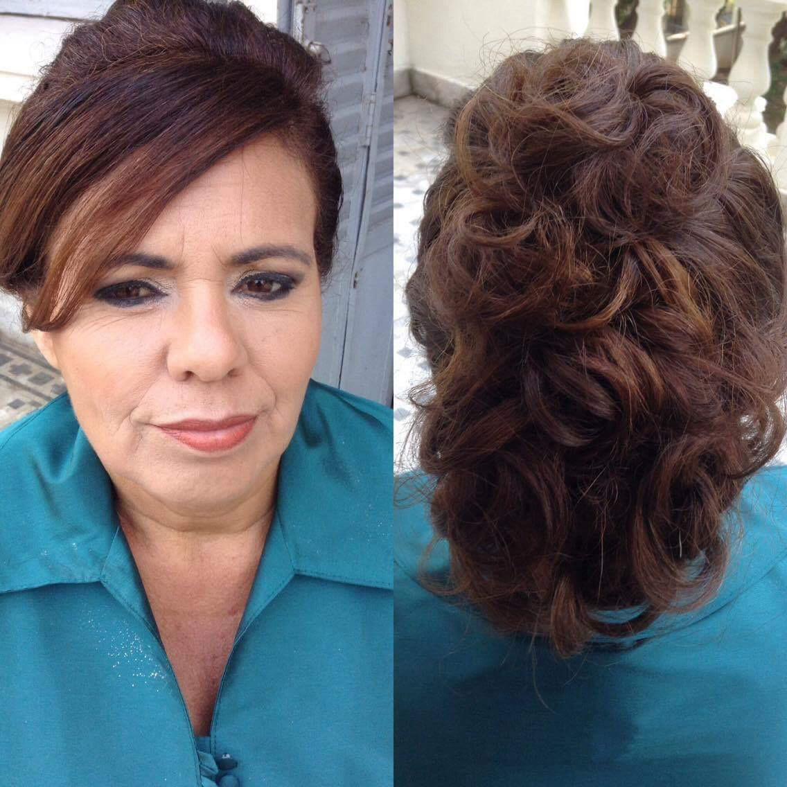 Penteado e makeup  maquiagem cabeleireiro(a) maquiador(a) designer de sobrancelhas