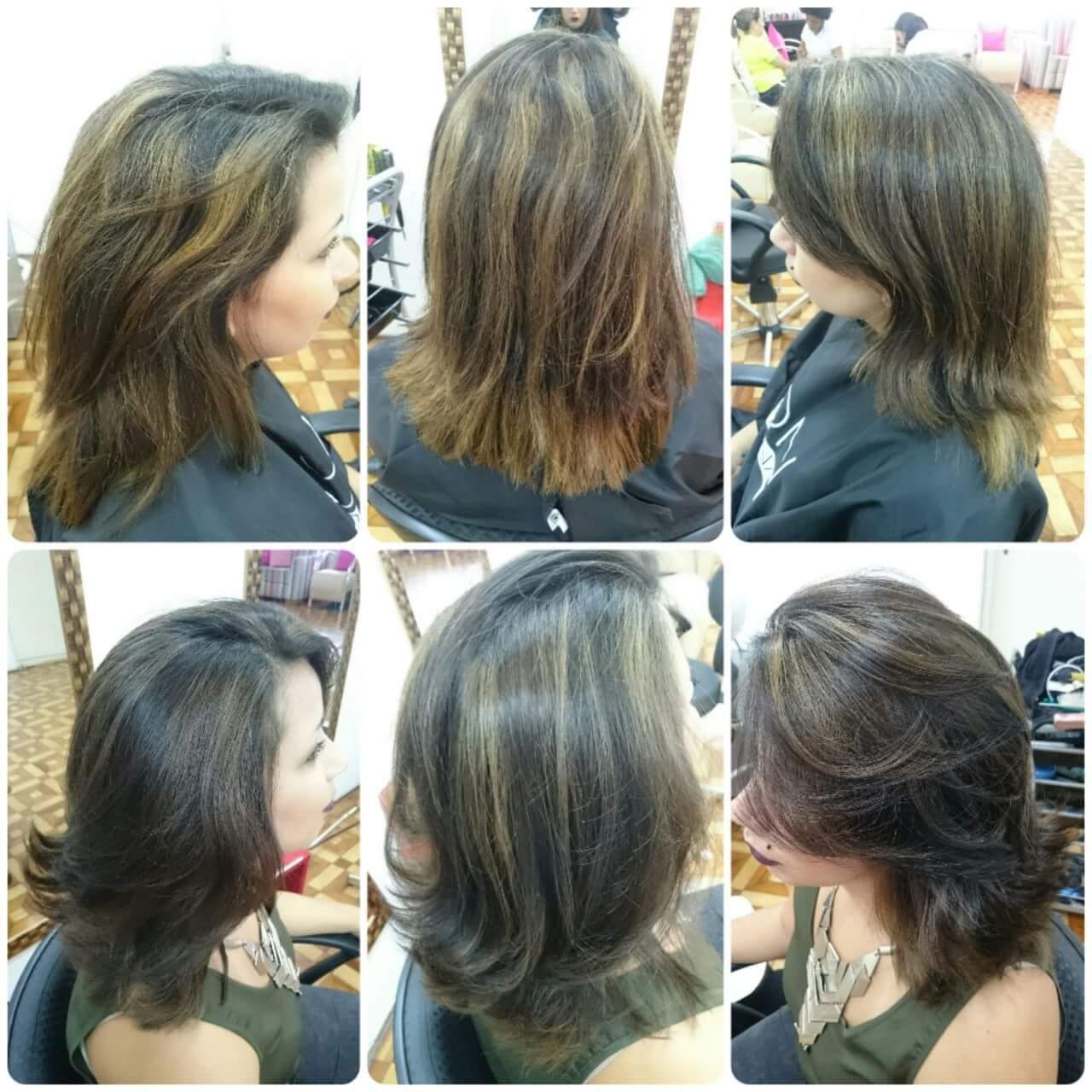 #tranformation #transformacao #correcaodecor #antesedepois #babylights  cabelo cabeleireiro(a) stylist / visagista maquiador(a) designer de sobrancelhas