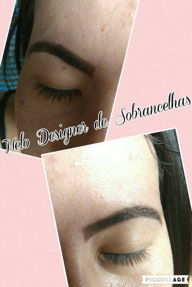 A aplicação de Henna deixa ainda mais definidas as sobrancelhas. designer de sobrancelhas micropigmentador(a)