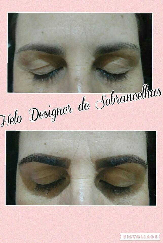 Designer de Sobrancelhas e Aplicação de Henna, deixa a maquiagem com um belo destaque. designer de sobrancelhas micropigmentador(a)