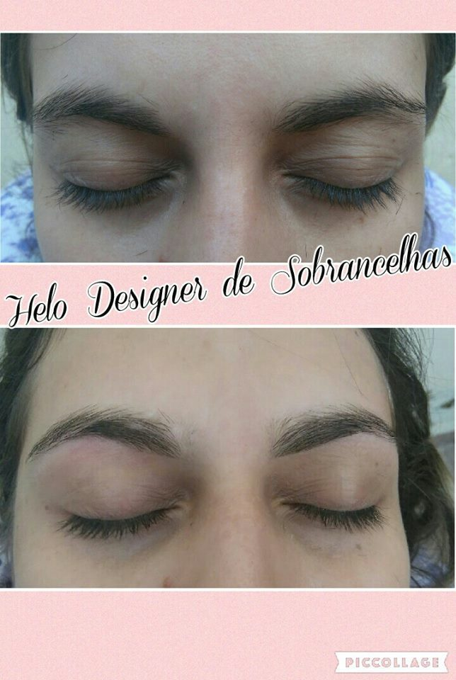 O Designer de Sobrancelhas dá um destaque lindo no rosto da mulher. designer de sobrancelhas micropigmentador(a)