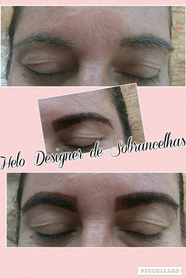 As mulheres lindas que estão com os pelos brancos nas sobrancelhas, a Aplicação de Henna deixa ainda mais linda. designer de sobrancelhas micropigmentador(a)