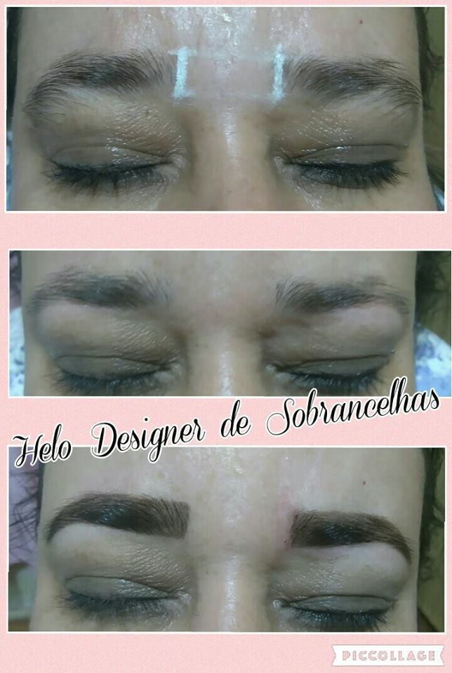 Mulheres lindas que ficam ainda mais satisfeitas com Designer de Sobrancelhas e Aplicação de Henna designer de sobrancelhas micropigmentador(a)