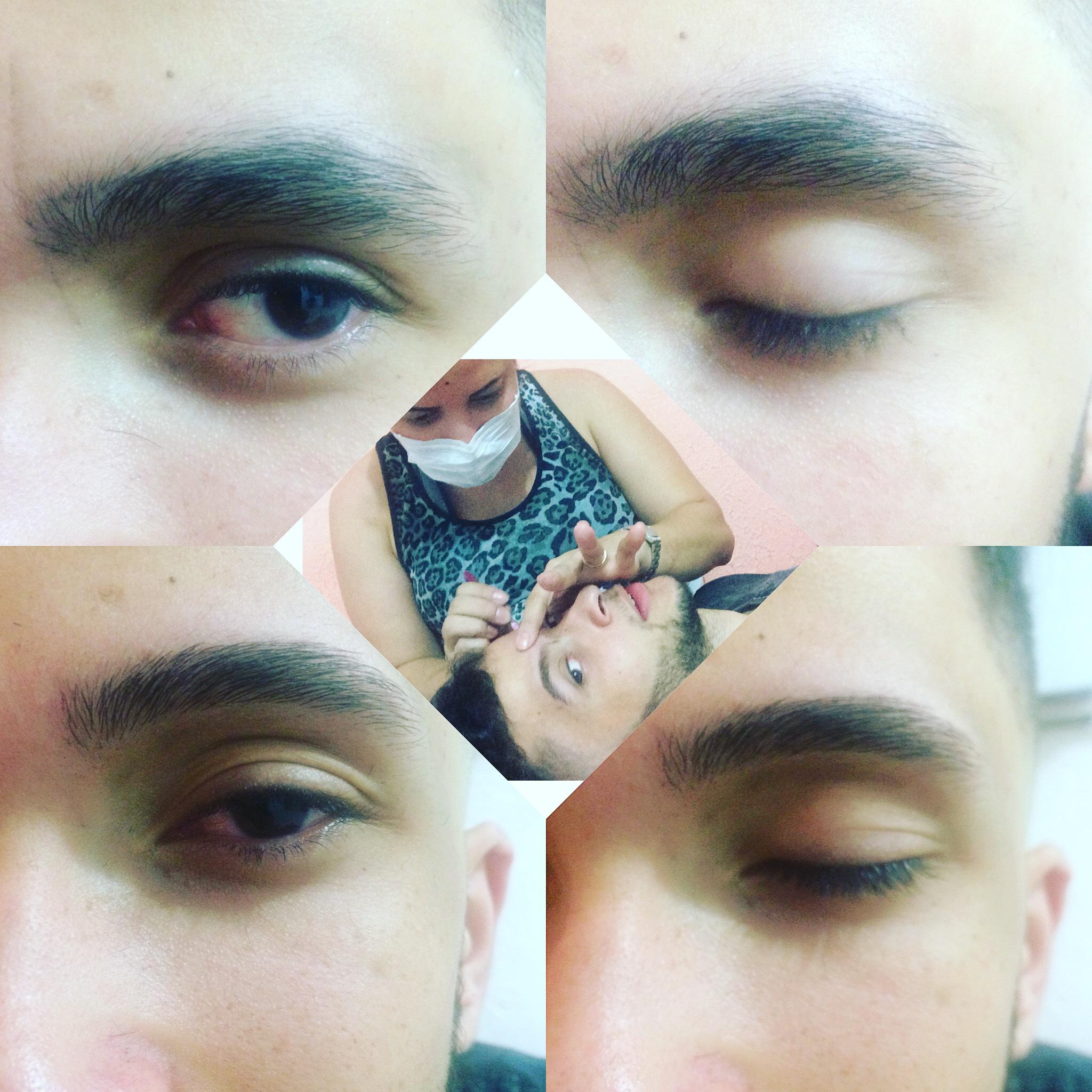 Designer Sobrancelhas Masculino  outros depilador(a) designer de sobrancelhas