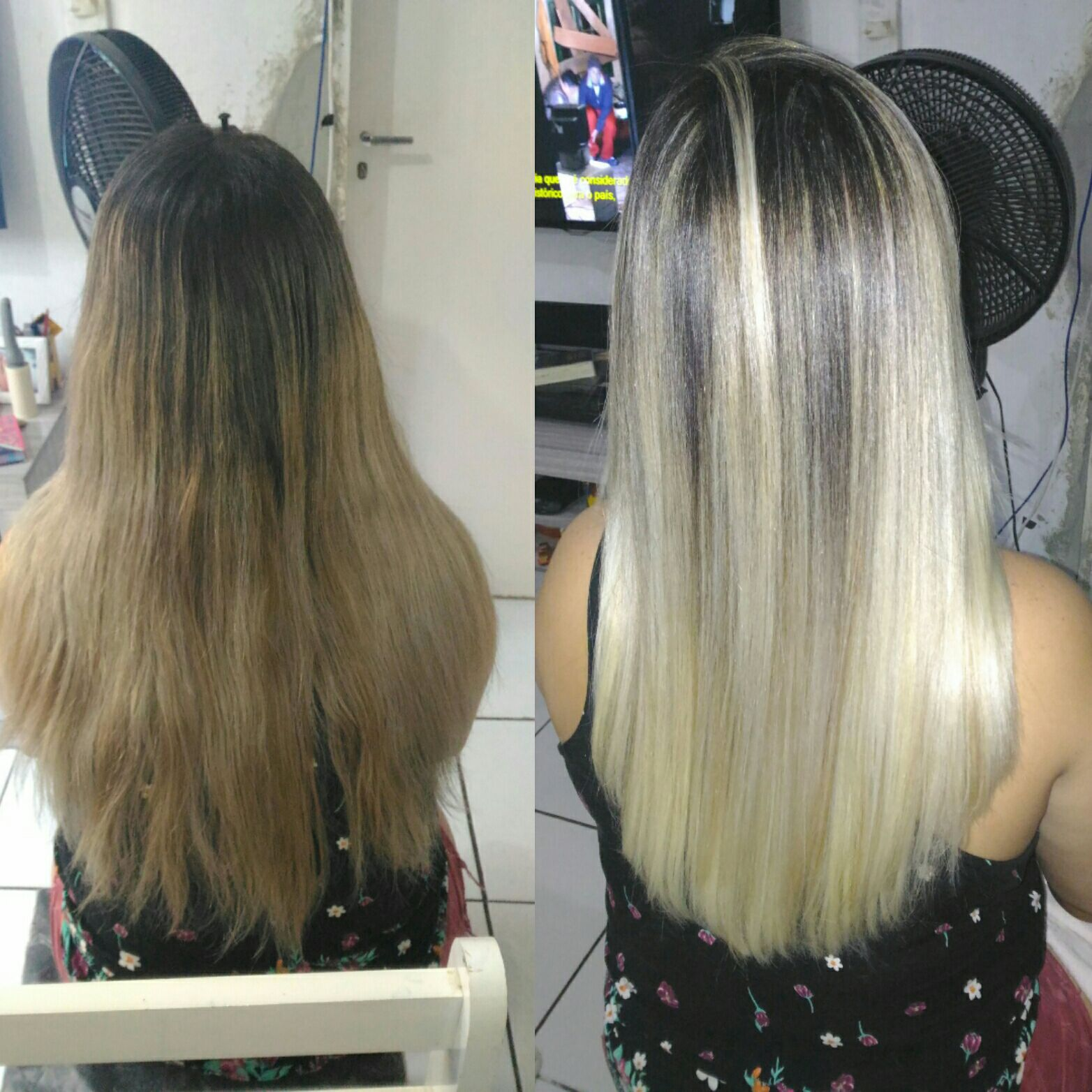 Ombre hair alto cabeleireiro(a) auxiliar cabeleireiro(a) cabeleireiro(a)