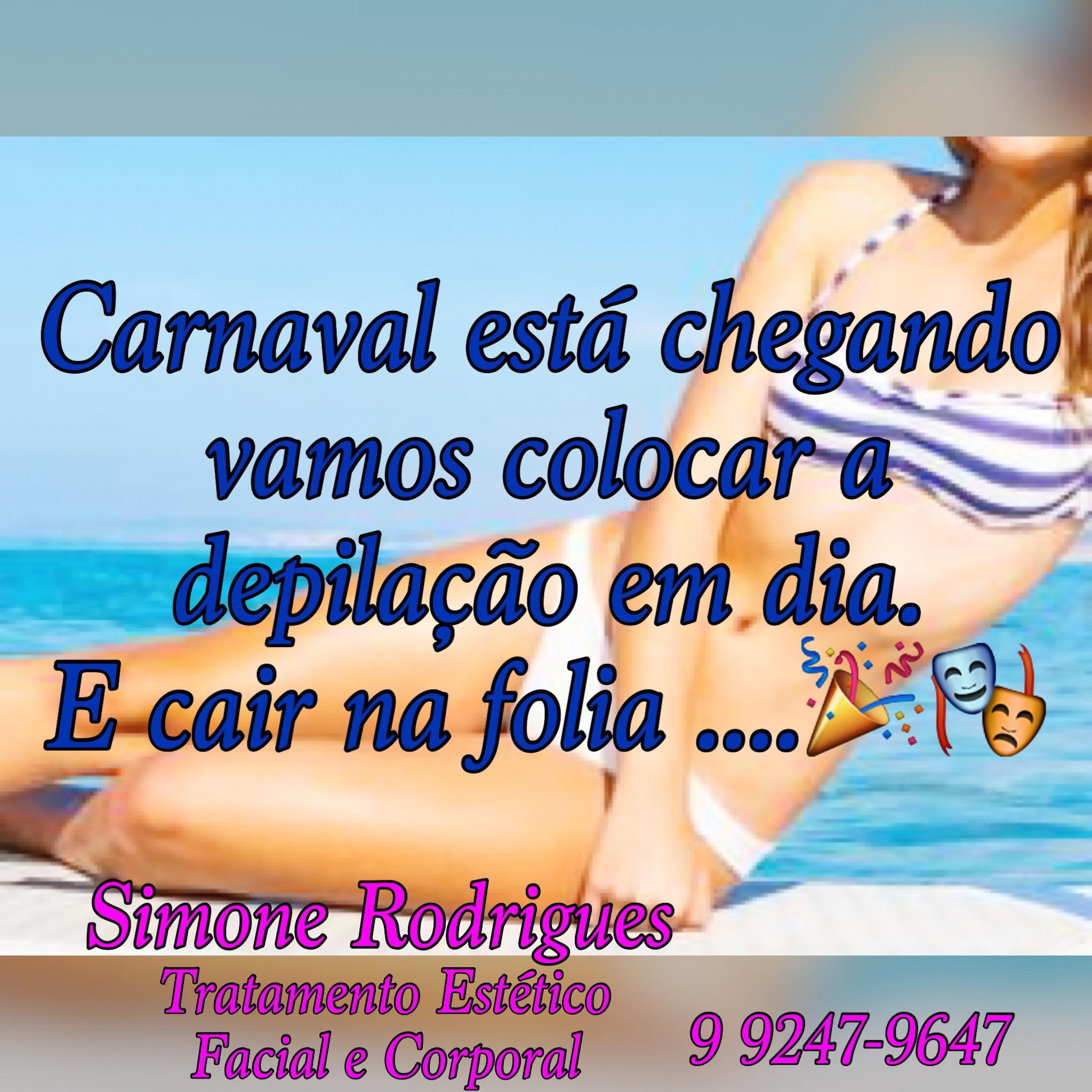 #carnaval #depilaçao #simonerodriguesdepil estética designer de sobrancelhas esteticista depilador(a) micropigmentador(a)