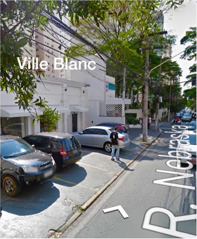 Vista lateral do Ville Blanc outros empresário(a)
