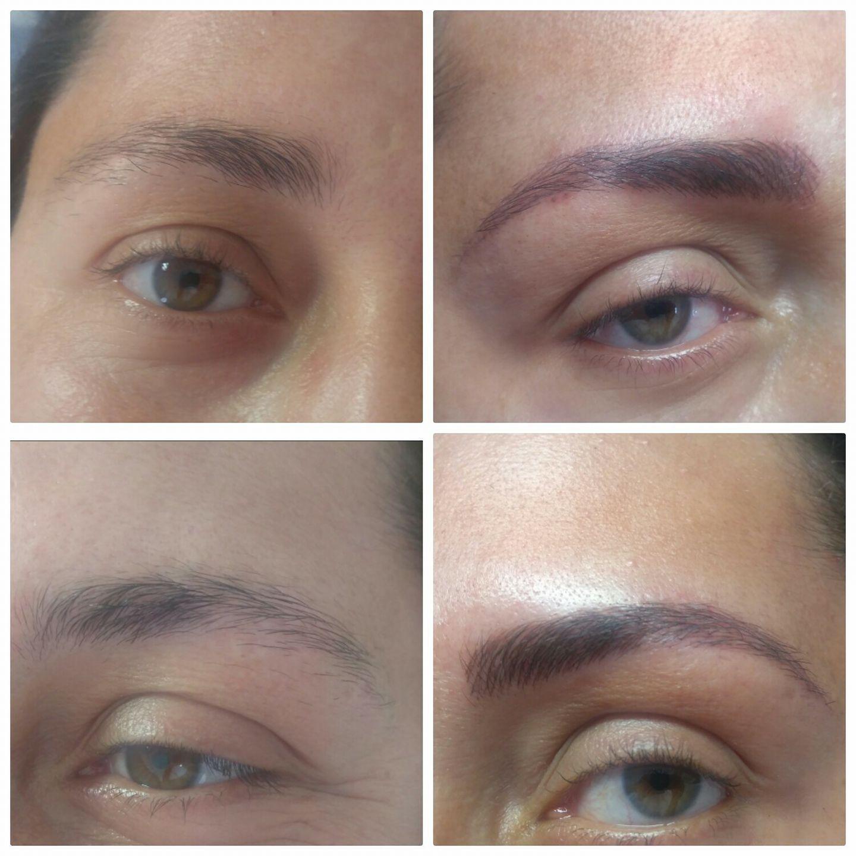 #Micropigmentação antes e depois estética cabeleireiro(a) depilador(a) designer de sobrancelhas maquiador(a) esteticista
