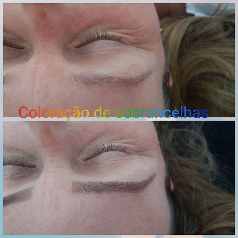 # Design e coloração de sobrancelhas estética cabeleireiro(a) depilador(a) designer de sobrancelhas maquiador(a) esteticista