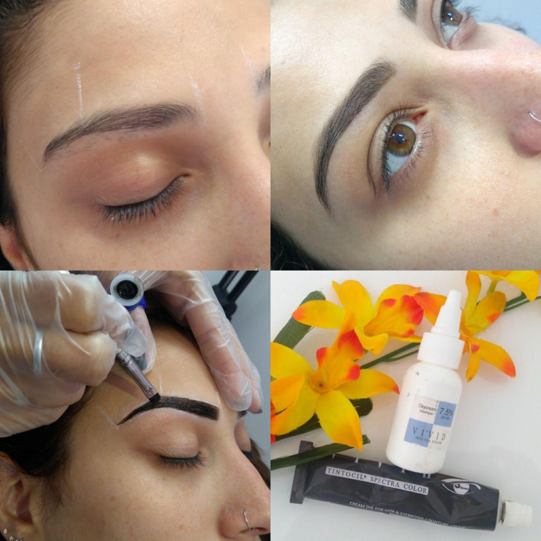 # Coloração de sobrancelhas estética cabeleireiro(a) depilador(a) designer de sobrancelhas maquiador(a) esteticista